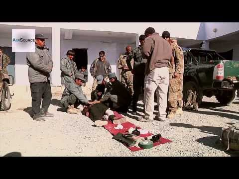 International Security Assistance Force Train Afghan Police on Point of Injury Care