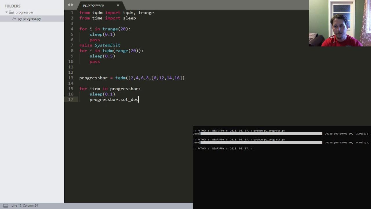 Python - Progressbar