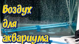 Аэрация аквариума! Аквариумный распылитель с Алиэкспресс!