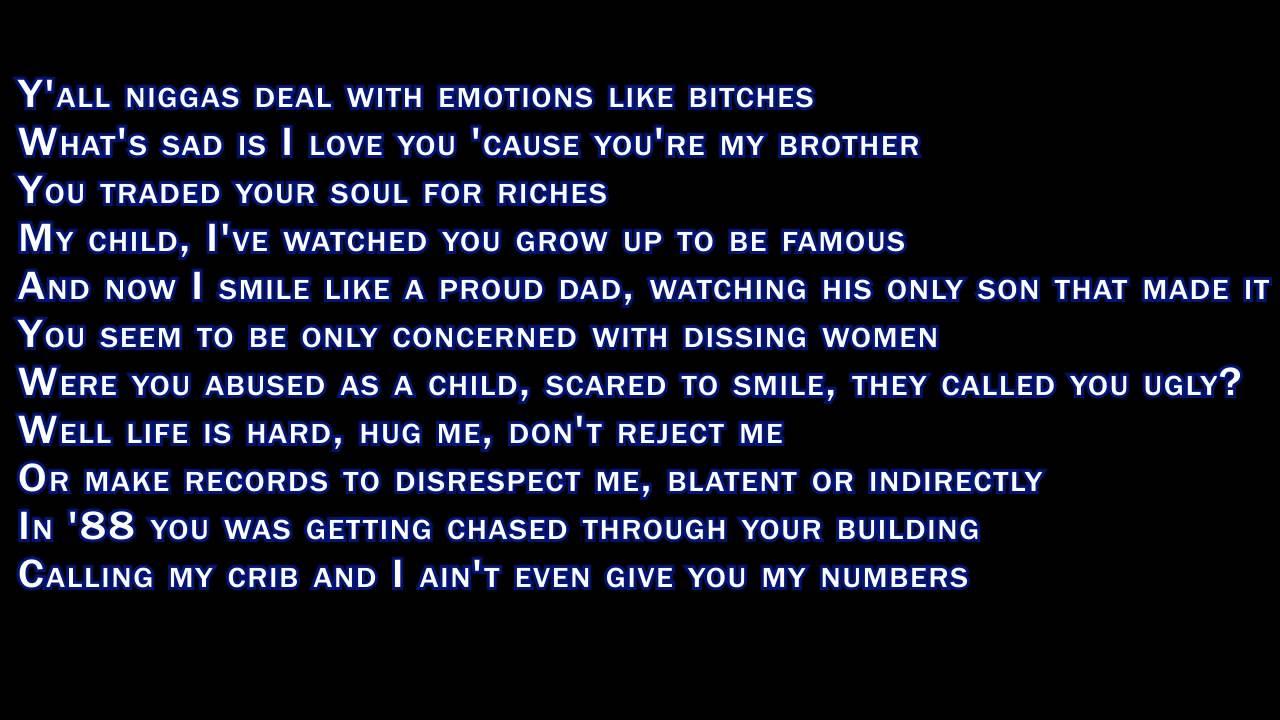You don like me lyrics