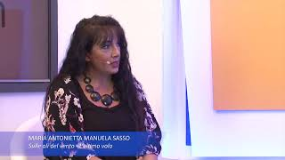 MAM Sasso guest at 'If Writing - Bookshow Special'.