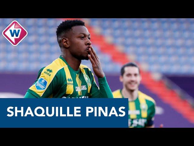 Shaquille Pinas wil voorbeeld zijn voor jonge Surinaamse voetballers -OMROEP WEST