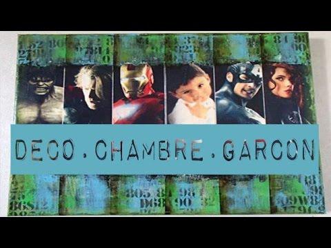 DIY IDEE DECO CHAMBRE GARÇON AVENGERS n°65