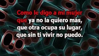 Cómo Le Digo - Rodrigo (con letra Karaoke)