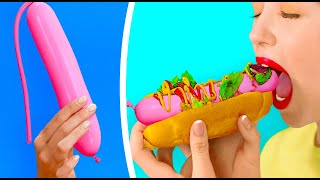 HUNGRY FOR A PRANK! || Best Food Prank And Foodie Hacks by 123 Go! Gold