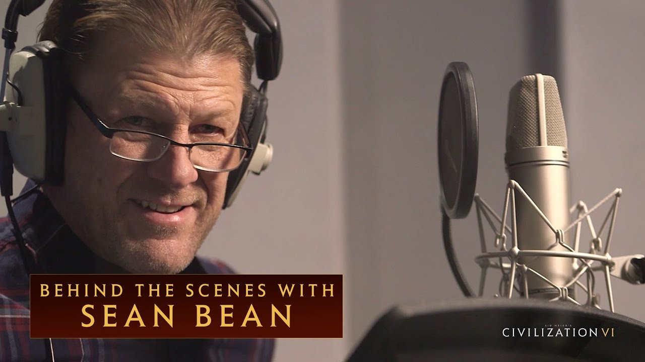 CIVILIZATION VI - Behind the Scenes with Sean Bean