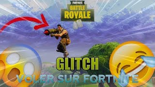 GLITCH FORTNITE- HOW to PLAN IN THE CIEL?!