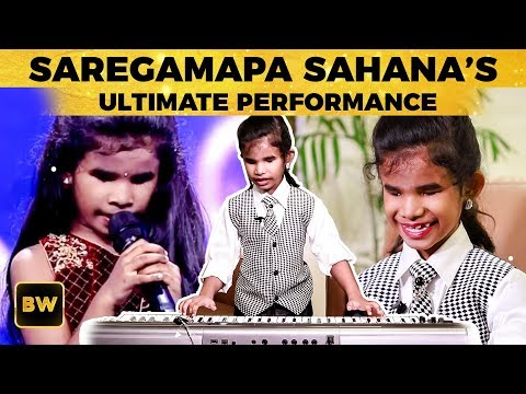 SAREGAMAPA Singer Sahana's Ultimate Performance ! | Don't Miss | US 259