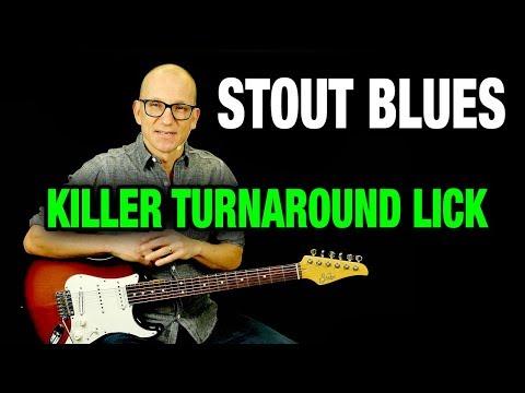 Modern Blues Soloing - Killer Turnaround Lick