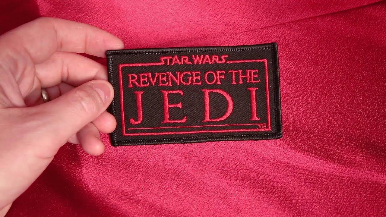 Vintage REVENGE OF THE JEDI Star Wars Fan Club patch. HD review