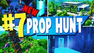 TOP 8 BEST PROP HUNT Creative Maps In Fortnite | NEW MODE | Fortnite Prop Hunt Maps CODES