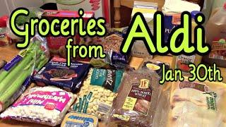 Aldi Grocery Haul ~january 30th, 2015