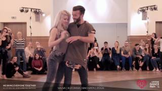 Sarah López & Reda - Masterclass Kizomba Fusion at Valentine Dance Festival 2017