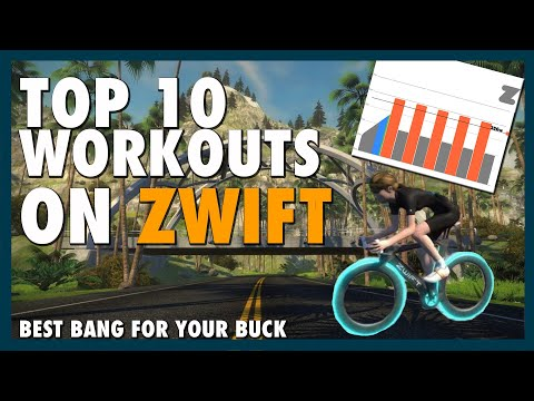 Top Ten Workouts on Zwift (Best Workouts To Do When Crunched For Time)