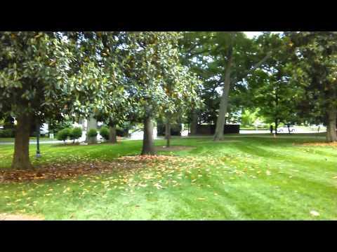 Walking all around campus Converse College(7)