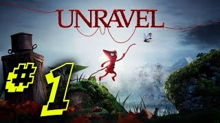 Unravel (Gameplay)/ This game is so Beautiful / PC Walkthough