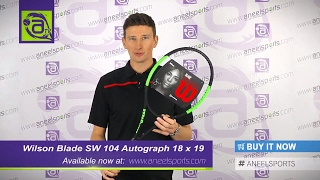 WILSON Blade Serena Williams Autograph Tennis Racket Review - AneelSports.com