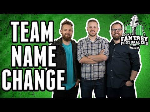 Fantasy Football: Bad Luck To Change Team Name Midseason?