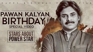 Power Star Pawan Kalyan Birthday Special Video | Celebs About Power Star Pawan Kalyan