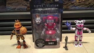 Five Nights At Freddy's SL Circus Baby Funko Action Figure Review!