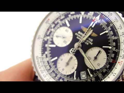 Authentic Breitling Navitimer Watch A23322 (KeepTheTime.com)