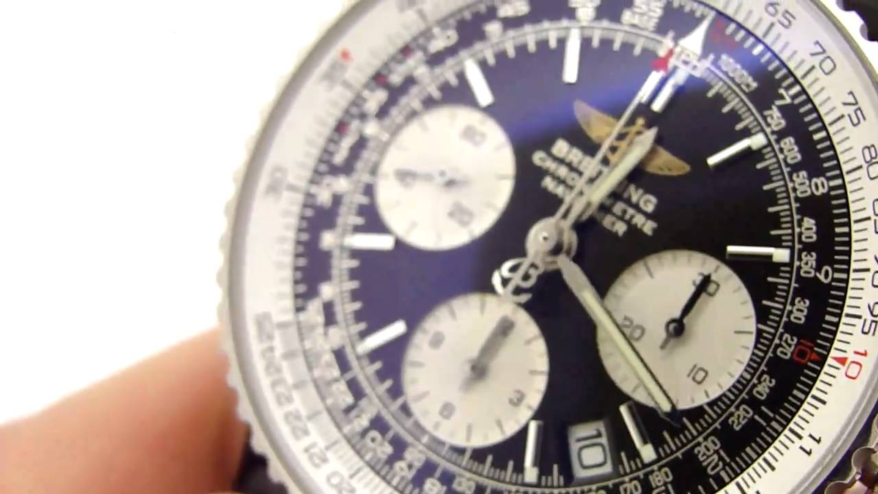 Authentic Breitling Navitimer Watch A23322 Keepthetime Com