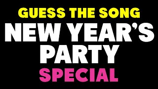 Pop Music Quiz - New Year's Special - Guess The Song