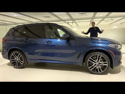 The 2019 BMW X5 Is a Sporty Midsize Luxury SUV