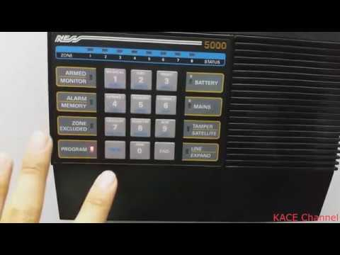 How to replace the battery on NESS 5000 alarm system Ness Alarm Wiring Diagram on