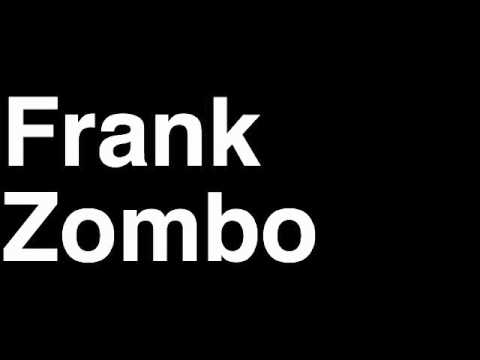 How to Pronounce Frank Zombo Green Bay Packers NFL Football Touchdown TD Tackle Hit Yard Run