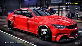 Need for Speed Heat - BMW M4 2018 (LB-Works) - Customize | Tuning Car (PC HD) [1080p60FPS]