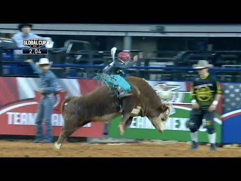 Mike Lee's Son, Noah Lee, Wins Miniature Bull Riding | 2019 PBR Global Cup
