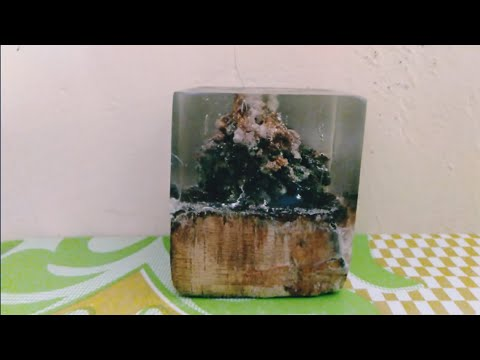Resin art miniatur bukit berbatu dan cara poleshing dan finishing