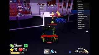Hackers spotted in Roblox Mad City! (Pogi642)