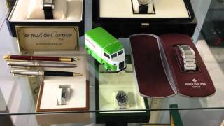 Displaying Your Luxury Wrist Watch Collection - Ikea Retro Glass Cabinet