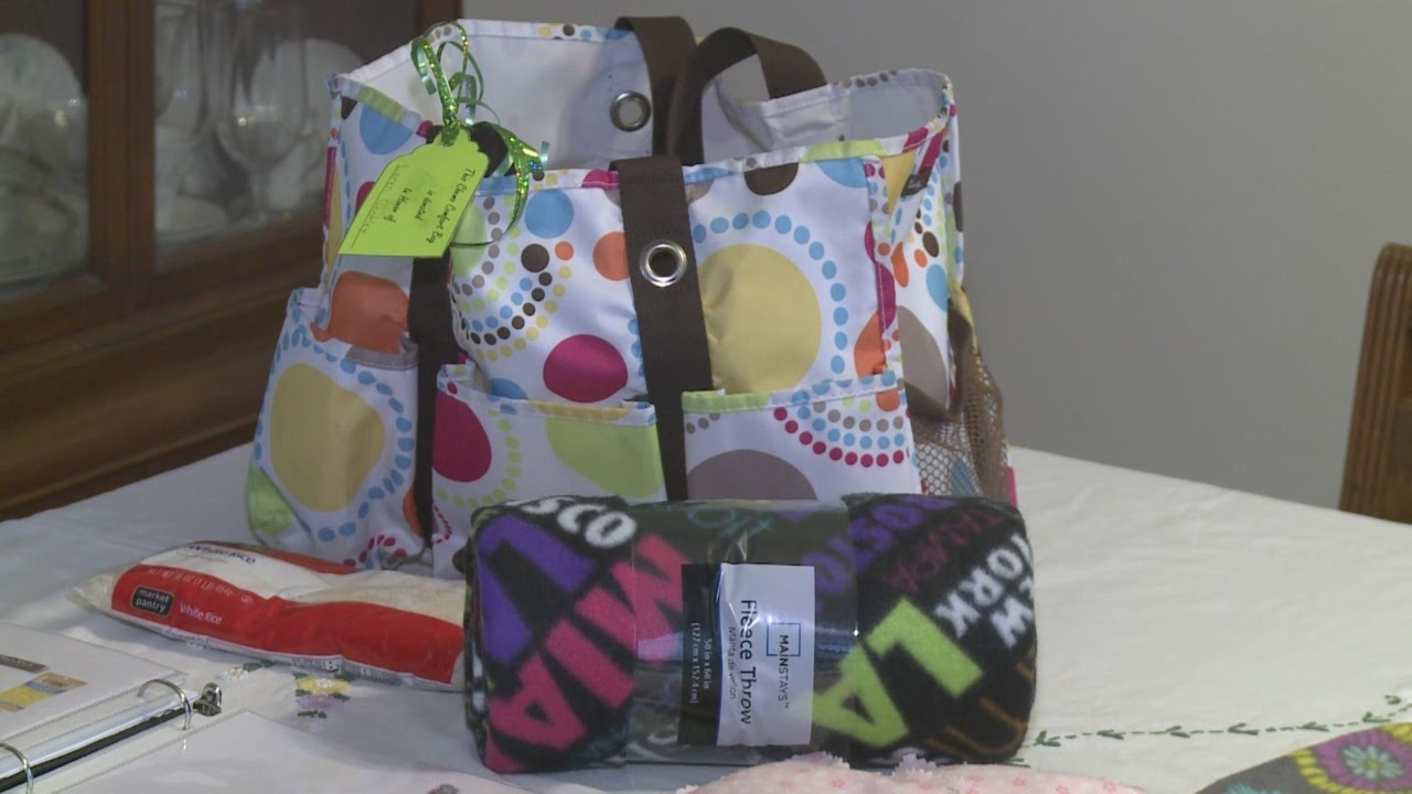 Comes Up Short Creating Care Bags For Chemo Patients