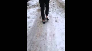 видео Брюки по щиколотку