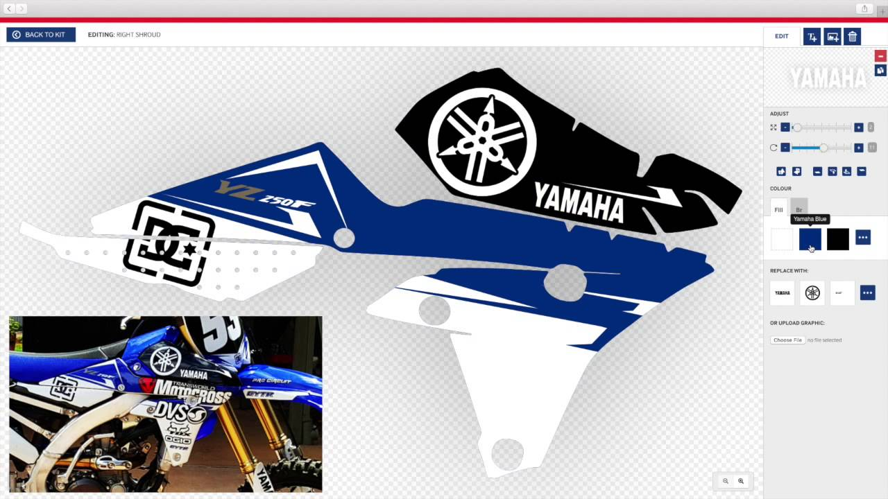 Designing your own decals couldnt be easier with motocal youtube