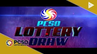 PCSO 4 PM Lotto Draw, October 16, 2018