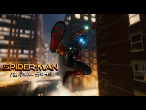 SPIDER-MAN FAR FROM HOME, EPIC TAKEDOWNS!! (SPIDER-MAN PS4)
