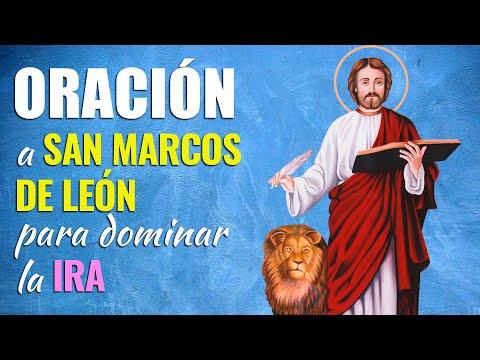 🙏 Oración a San Marcos de León para VENCER Y DOMINAR LA IRA Acumulada 😡