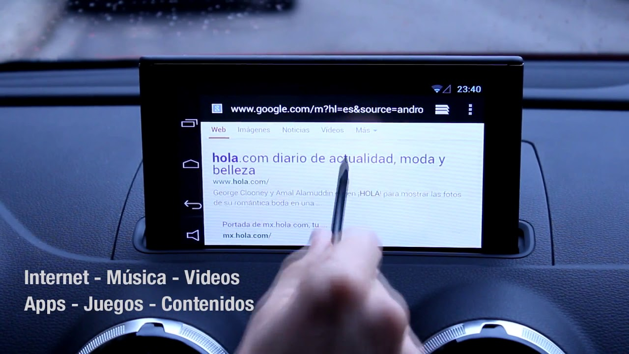 Navitouch® Android - Audi A3 (8v) 2013+ Navegador Táctil Android 7