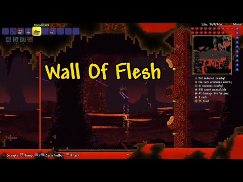 Terraria How To Summon And Kill The Wall Of Flesh