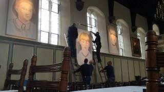 Female portraits take pride of place in Jesus College art exhibition