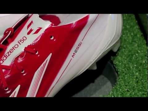 Adidas Messi F50 adiZero - Presentation Case - Unboxing & First Impressions