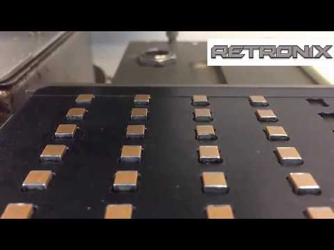 Robotic Hot Solder Dip / Automated Alloy Conversion / Re-Tinning