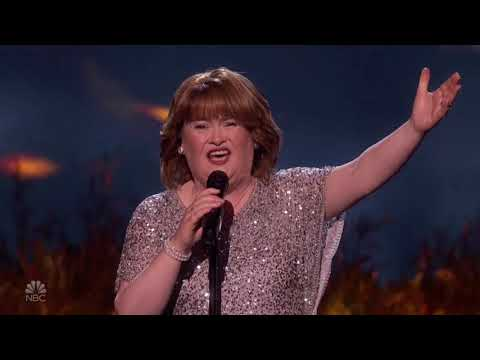 Watch Susan Boyle make triumphant return to 'America's Got Talent' after losing 'AGT: The Champions'