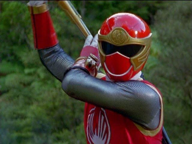 Power Rangers Ninja Storm - Red Ranger rescues Skyla   Episode 27 Shanes Karma Part 2