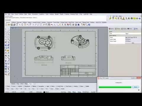 Generar vistas y Layout en Rhino 3D Parte 2