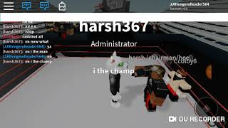 Roblox AEW wrestling Roleplay